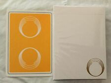 Gold Saturn playing cards. New sealed deck