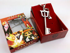 Kingdom Hearts II Sora Key Blade Necklace Anime Cosplay Figure Pendant