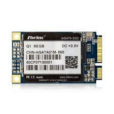 Zheino Q1 60GB mSATA SSD for IBM Thinkpad Lenovo laptop Mini PC Tablet PC