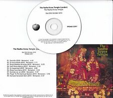 THE RADHA KRSNA TEMPLE S/T 2010 UK Apple remastered 9-track promo test CD