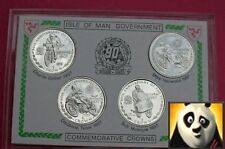 1997 SCARCE ISLE OF MAN 1 One Crown Coin Set 90th Anniversary of TT Races