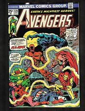 Avengers #126 ~ (8.0) vs KLAW / Black Panther ~ 1974  WH