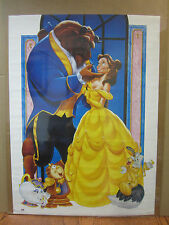 Vintage Beauty and the Beast Poster Disney princess Belle  5087