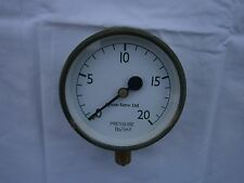"Spirax-Sarco Ltd 4"" pressure gauge 0-20 lb/in2"
