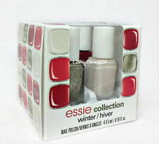 ESSIE Nail Lacquer- Mini WINTER/HIVER Collection 2014 - 4 colors x 0.16oz -18160