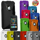 NEW STYLISH GLOSSY SLIM SILICONE GEL SERIES CASE COVER FOR APPLE IPHONE 3G 3GS