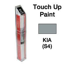 KIA OEM Brush&Pen Touch Up Paint Color Code : S4 - Steel Silver Metallic