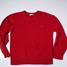 Tommy Hilfiger Denim Cotton Men's Porter V Neck  Jumper Size L