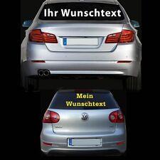 Auto Aufkleber Wunschtext Domain Heckscheibenaufkleber Text Schriftzug 1 Meter