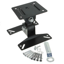 Plasma LCD LED Flat 15 17 19 22'' TV Swivel Wall Mount Bracket For VESA 75 100