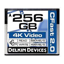 Delkin 256GB Cinema CFast 2.0 Memory Card DDCFST560256
