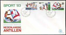 Netherlands Antilles 1983 Sports Funds FDC First Day Cover #C26737