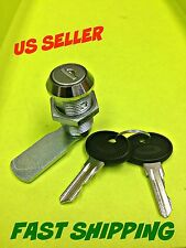 Lot of 4 Cam lock Keyed alike Cabinet Mailbox Cupboard Chrome # 050.30.01.50