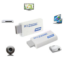 Full HD Wii To HDMI 1080P Upscaling Converter Adapter With 3.5 mm Audio Output