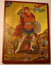*** Heilige Georg Ikone Saint George Icone Icon Ikona Ikonen orthodox Icoon
