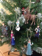 Disney Frozen Árbol De Navidad Decoración 6 piezas Anna Elsa Olaf Hans Sven Kristoff