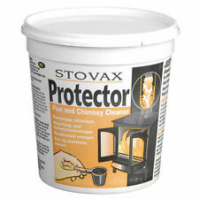 STOVAX Protector Flue Chimney Soot Tar Cleaner Wood Stove Open Fire Tub 1KG