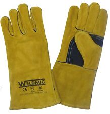 MIG / ARC WELDING GLOVES WELDERS GAUNTLETS BEST QUALITY FOR HAND PROTECTION