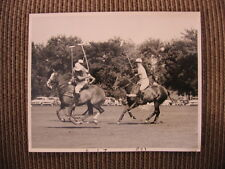 Hall of Fame Player 6X U.S. Champion Paul Butler Oak Brook Polo Club Horse Photo