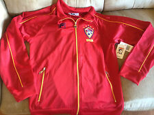 NWT FILA YOUTH SPAIN SOCCER FULL ZIP JACKET (S)