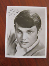 TOMMY ROE 8x10 photo AUTOGRAPHED