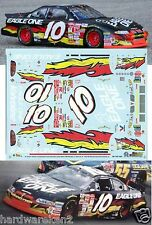 NASCAR DECAL #10 EAGLE ONE 2001 PONTIAC GRAND PRIX JOHNNY BENSON  SLIXX