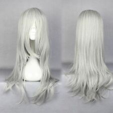 FINAL FANTASY 7 VII ADVENT CHILDREN PARRUCCA SEPHIROT CLOUD COSPLAY WHITE WIG