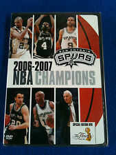 NBA San Antonio Spurs 2006-2007 Champions Special Edition The Finals DVD