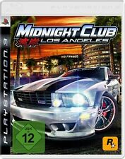 Playstation 3 MIDNIGHT CLUB 4 LOS ANGELES * Top Zustand