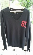 TOMMY HILFIGER (Denim) Lambswool, Angora, Cashmere Large Jumper Black