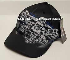 Dale Earnhardt Jr 2016 Checkered Flag Sports #88 SKULL Hat FREE SHIP!