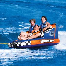 SportsStuff Big Betty Inflatable Water 2 Rider Tube Boat Lounge Towable 53-3002