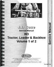 Case 420B W3 Wheel Loader & Loader Backhoe Service Manual (CA-S-W3 TLB)
