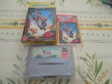 THE JUNGLE BOOK DISNEY SFC SUPER FAMICOM JAPAN IMPORT COMPLETE IN BOX!