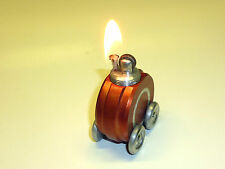 "Walter Baier"" ""TABLE LIGHTER RED-ACCENDINO DA TAVOLO-Ges. eff - 1949-Germany"