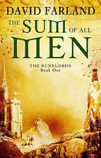 The Sum Of All Men: Book One of the Runelords (Runelords S.), By David Farland,i