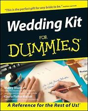 Wedding Kit for Dummies (Soft Cover with CDR), Fisher Kaiser, Laura, Blum, Marcy