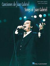 Juan Gabriel The Songs Of Piano Vocal Guitar Book NEW!
