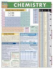Quickstudy Academic: Chemistry by Mark D. Jackson and Staff BarCharts Inc....