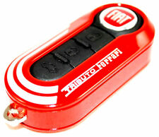 Fiat 500 Punto Abarth Tributo Ferrari Red Remote Key Cover New Genuine 735527598