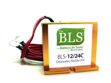 Battery Life Saver BLS-12/24C Desulfator Rejuvenator 12v 24v Battery Systems