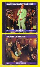 TIME LIFE Rock & Roll Era ROOTS OF ROCK 1945-1956-ROOTS OF ROCK II 2 CD Lot