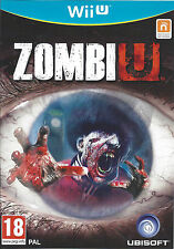ZOMBI U for Nintendo Wii U - with box & manual - PAL