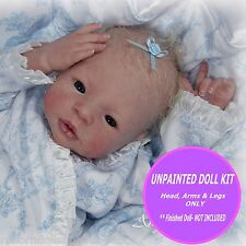 Beautiful Reborn kit Morgan ~ by Aleina Peterson~ 3/4 arms & legs to make a 19""