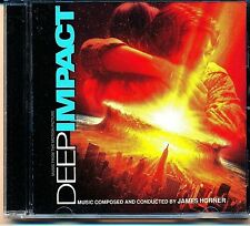 Deep Impact by James Horner CD 1998, Sony Music Distribution promo