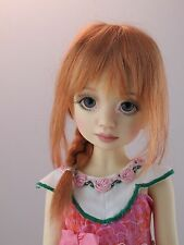 Monique VENUS Wig Reddish Blonde Size 7-8 MSD BJD on Liz Frost Ruby