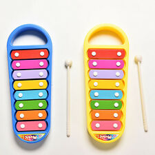 Baby Kids Boys Girls Educational Toy Musical Instrument 8-Note Xylophone Toy SD3