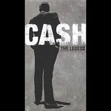 Johnny Cash The Legend 4 CD Book Set Columbia Legacy W/Booklet