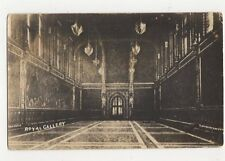 Royal Gallery House Of Lords London Vintage RP Postcard 109a