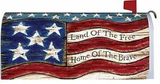 American Flag Magnetic Mailbox Cover